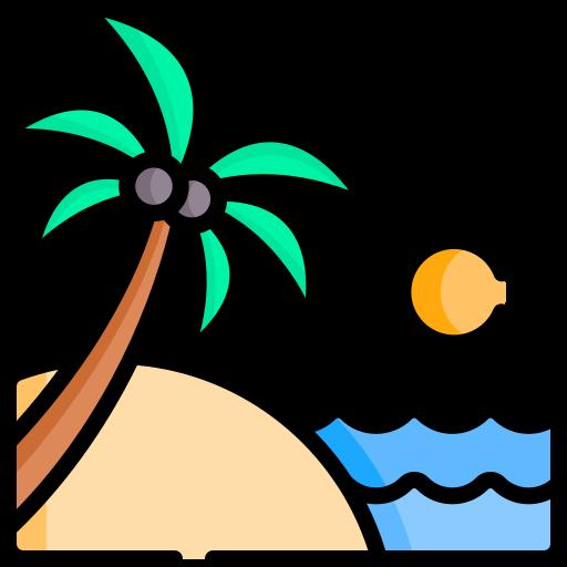 férias de verão  grátis ícone