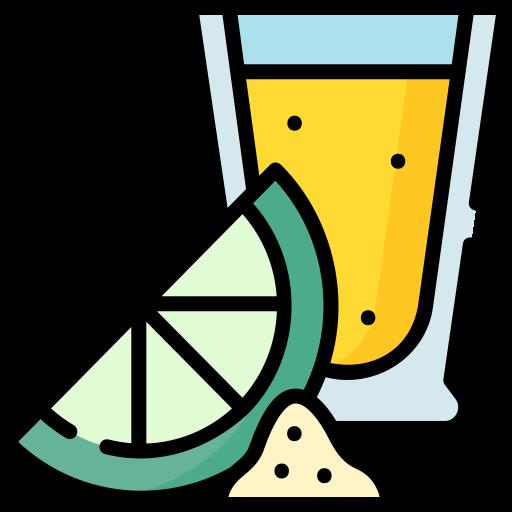 trago de tequila  icono gratis