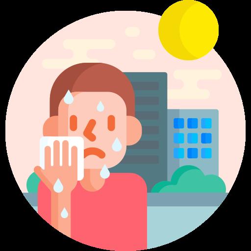 Extreme weather  free icon