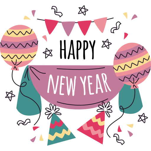 feliz ano novo  grátis figurinha