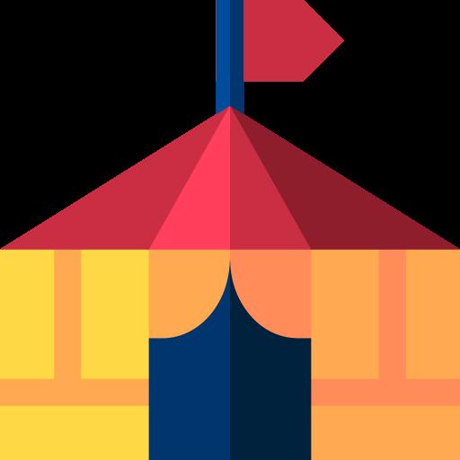 Circus tent  free icon