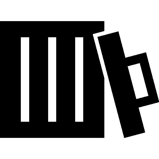 lixeira descoberta  grátis ícone