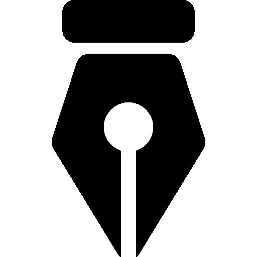 Pen point  free icon