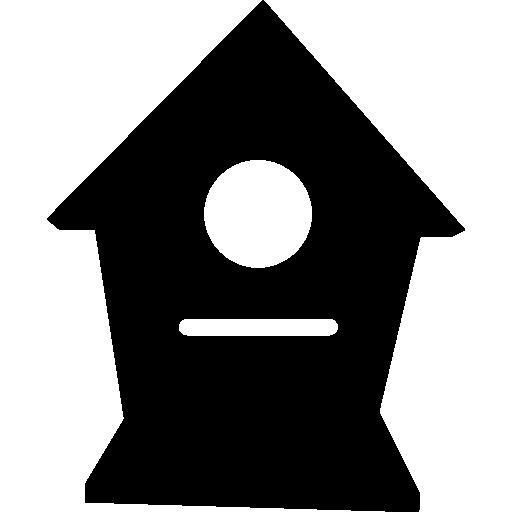 pássaros em casa  grátis ícone