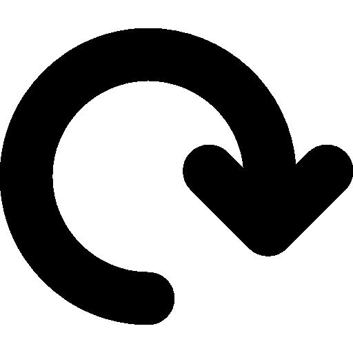 refaire le symbole de la flèche  Icône gratuit