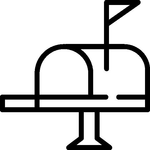 boites aux lettres  Icône gratuit