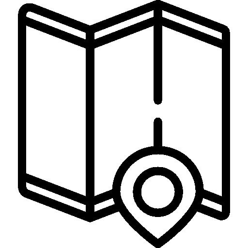 carte  Icône gratuit