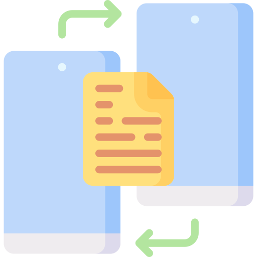 transfert de fichier  Icône gratuit