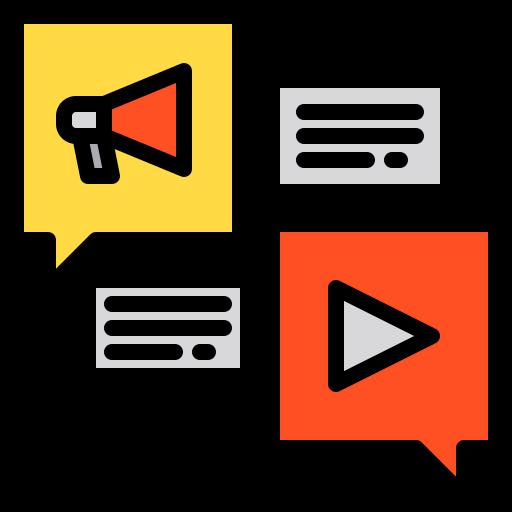sozialen medien  kostenlos Icon