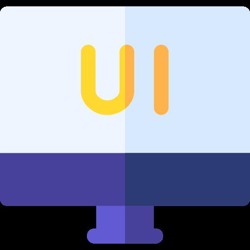 Ui design  free icon