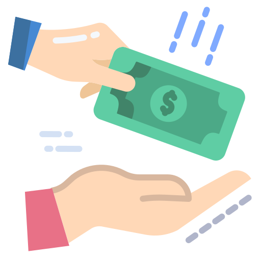 empréstimo  grátis ícone