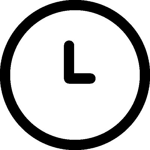 Minute  free icon