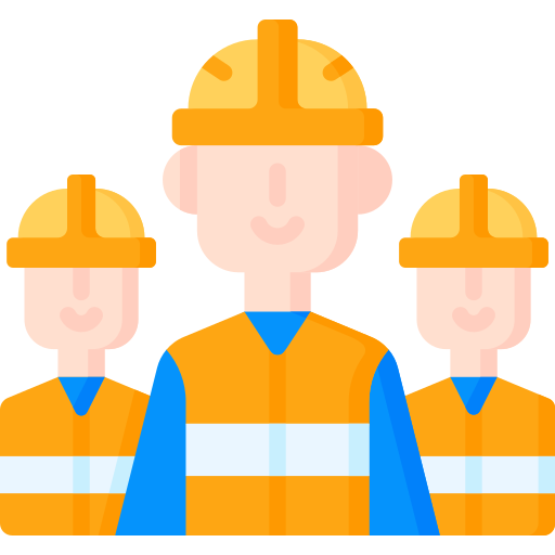 Workers  free icon