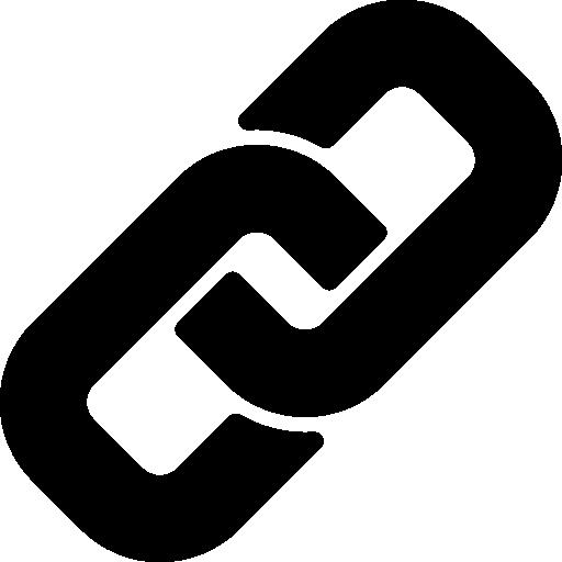 symbole d'interface de lien  Icône gratuit