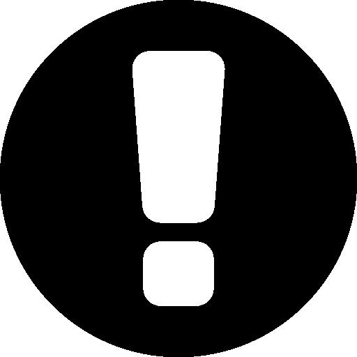 warnung  kostenlos Icon