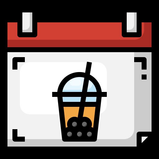 버블티  무료 아이콘