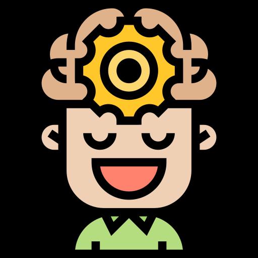 proceso cerebral  icono gratis