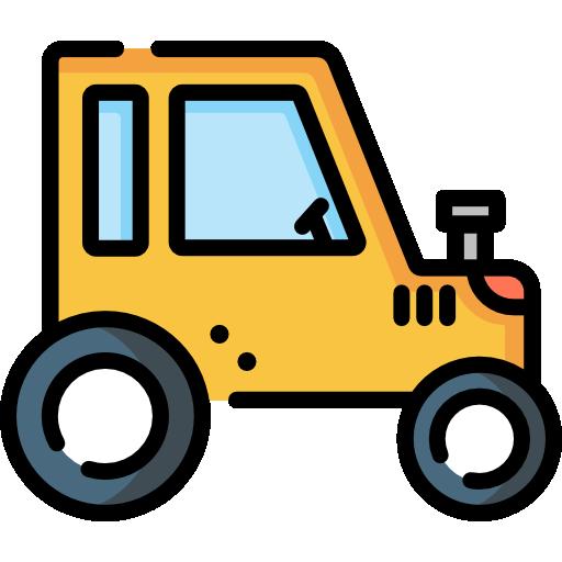 tractor  icono gratis