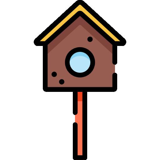 casa del pájaro  icono gratis