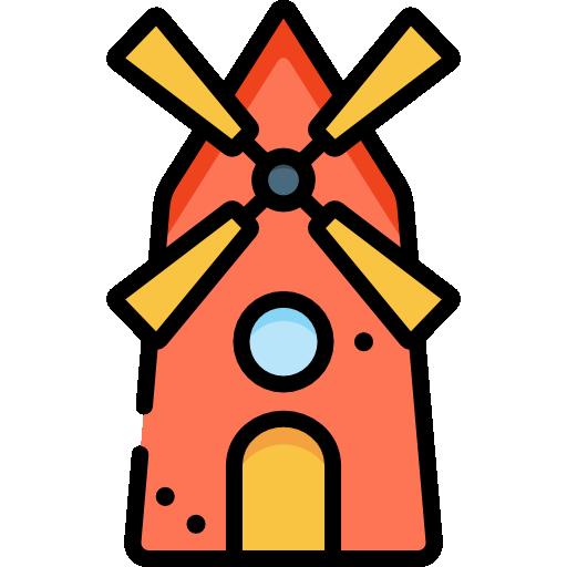 molino  icono gratis