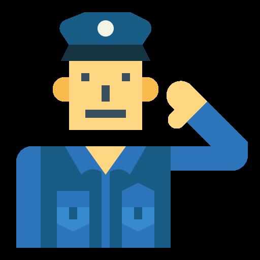 policial  grátis ícone