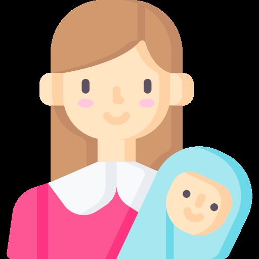 Mom  free icon