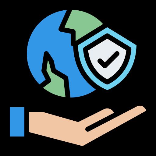 Travel insurance  free icon