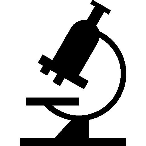 vue latérale du microscope  Icône gratuit