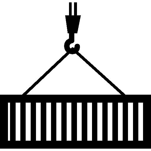 Контейнер для транспортировки краном  бесплатно иконка