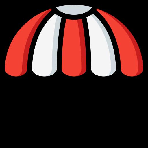 낙하산  무료 아이콘