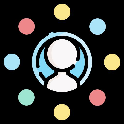 la mise en réseau  Icône gratuit