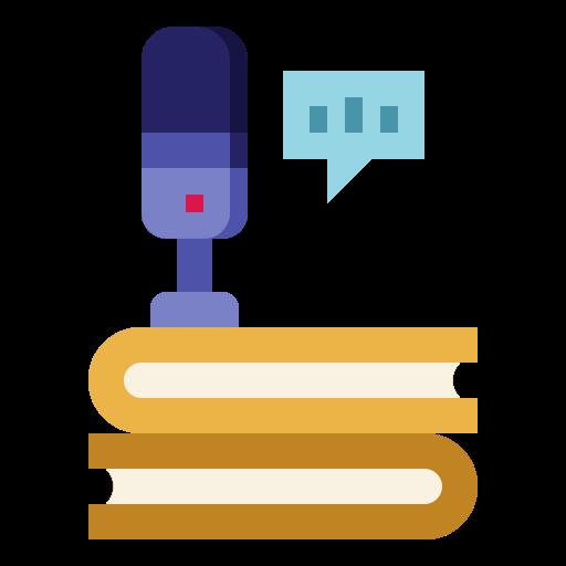 Audio book  free icon