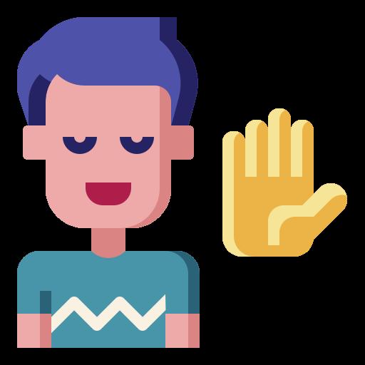 손 들기  무료 아이콘