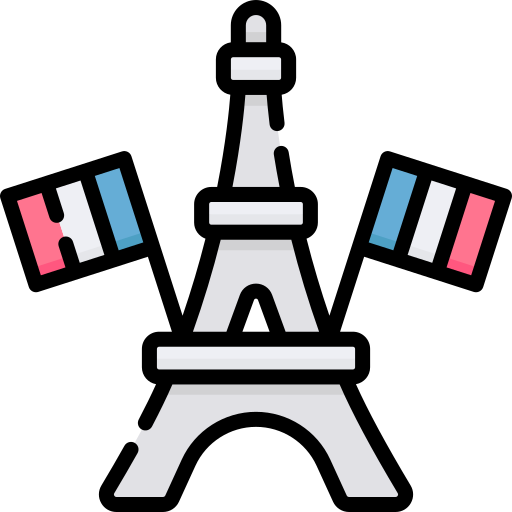 Bastille day  free icon