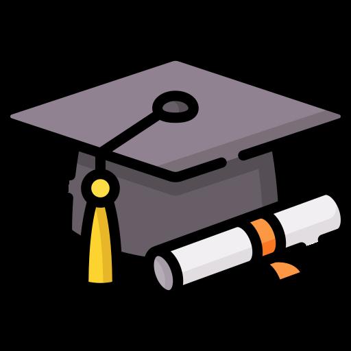 Graduation hat  free icon