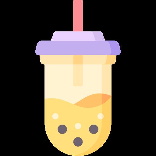 Milk tea  free icon