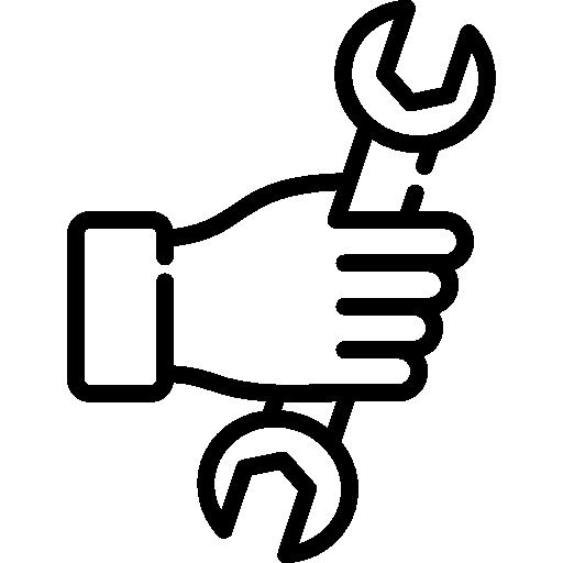 홀딩 렌치  무료 아이콘