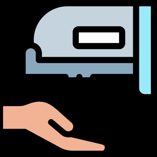 Hand dryer  free icon