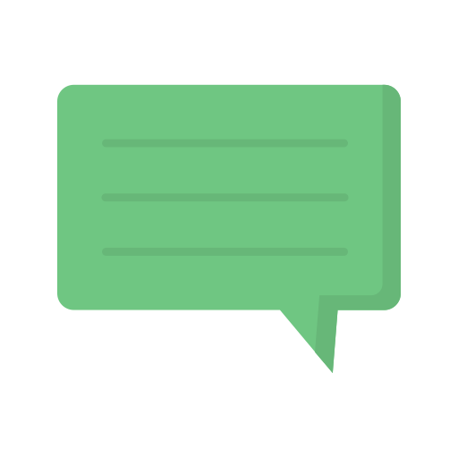 Chat box  free icon