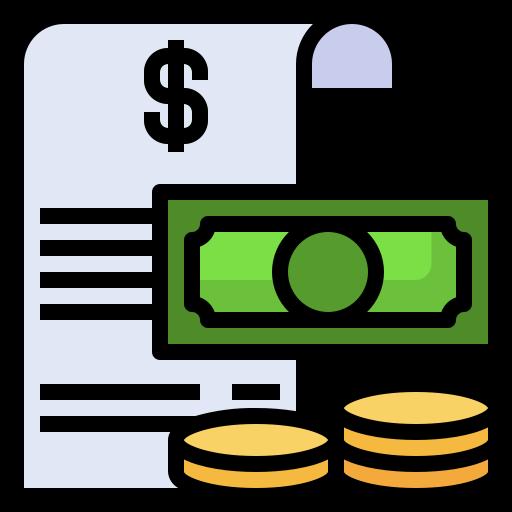 moneda de dólar  icono gratis