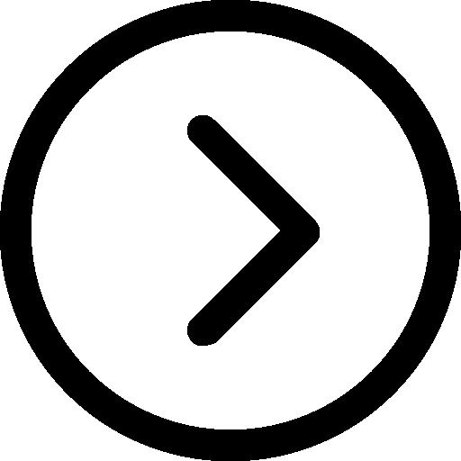 Right arrow  free icon