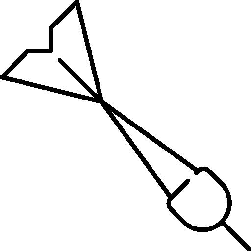 Dart  free icon