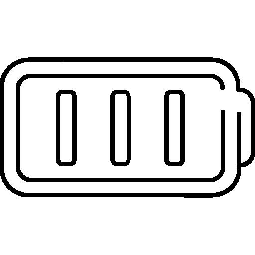 batería  icono gratis