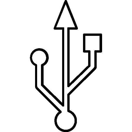usb  icono gratis