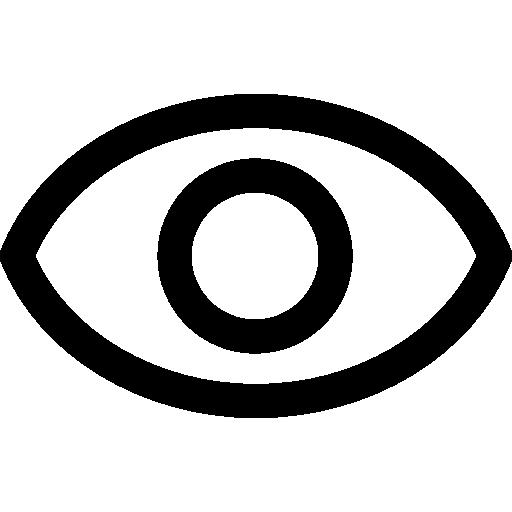 Visibility  free icon