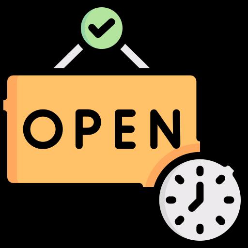 Öffnungszeiten  kostenlos Icon