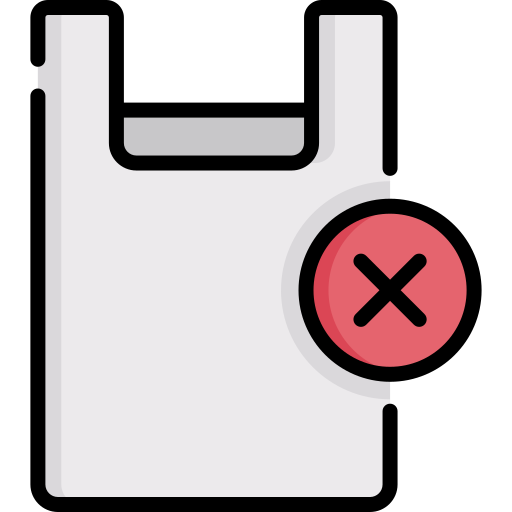 keine plastiktüten  kostenlos Icon
