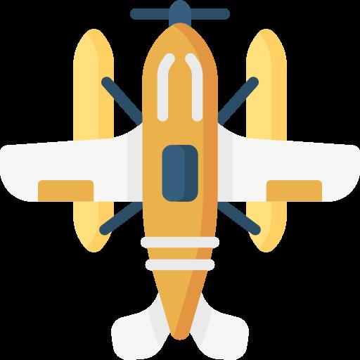 수상 비행기  무료 아이콘