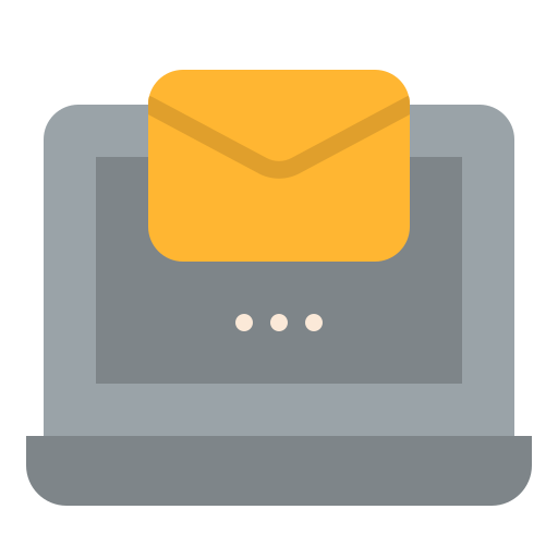 Receive mail  free icon