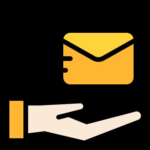 envoyer un mail  Icône gratuit